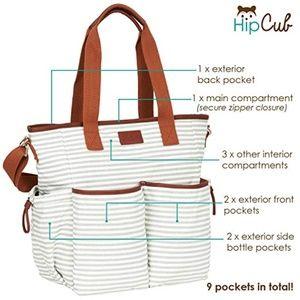 Diaper Bag by Hip Cub - weekender